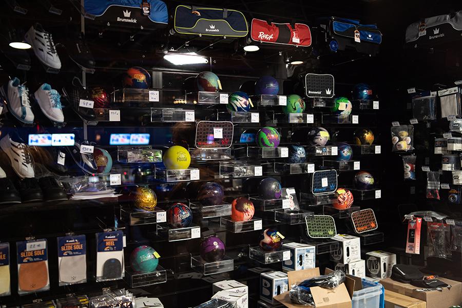 achat de boule de bowling à Amiens